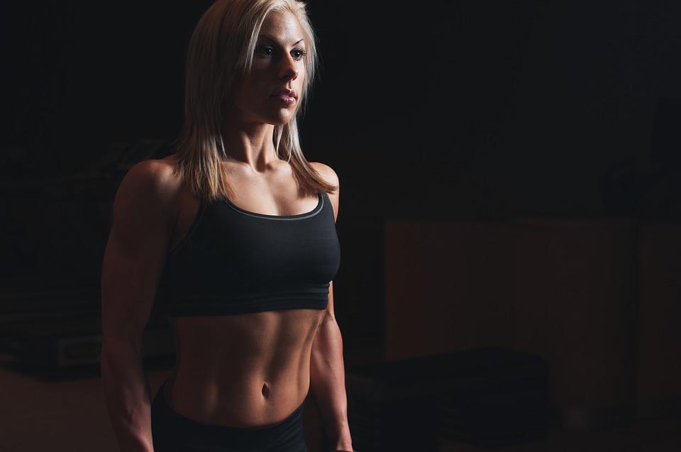žena, fitness