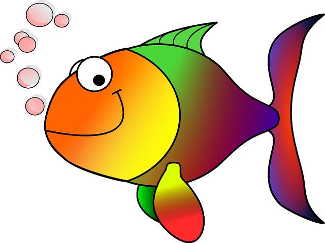 ilustrace ryby