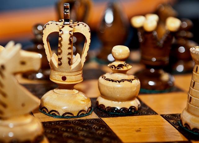 zdobené šachy