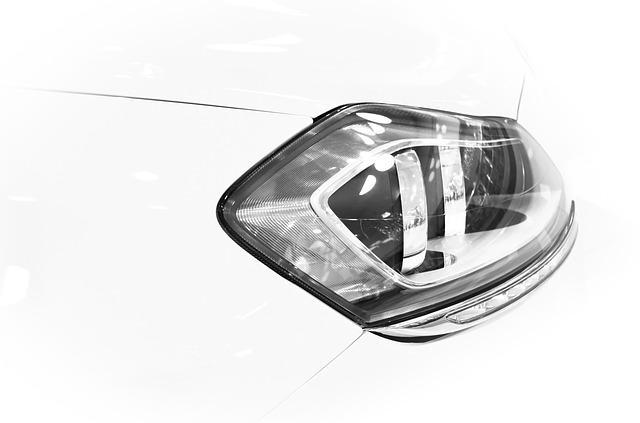 světlo auta