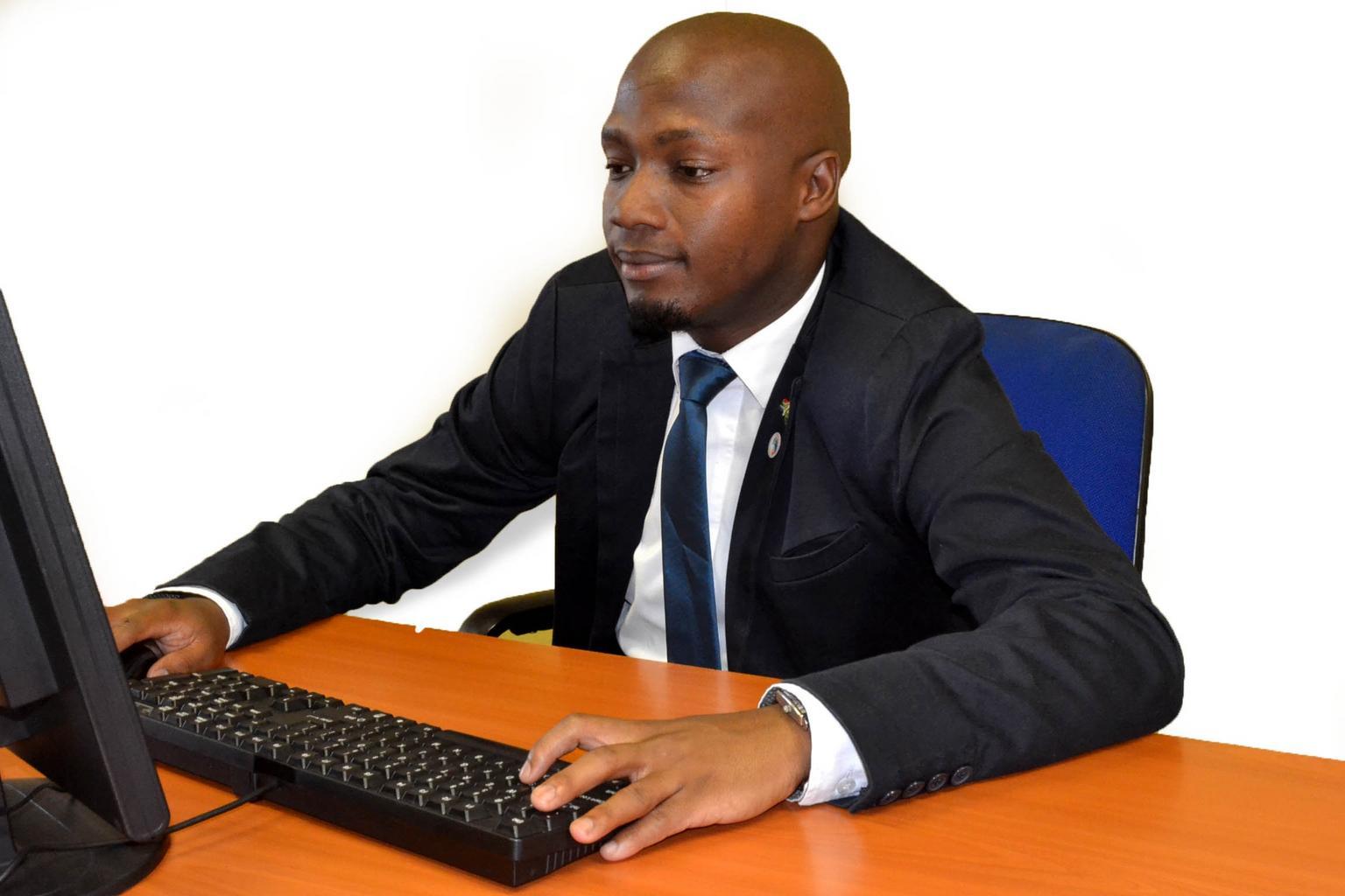 podnikateľ, počítač